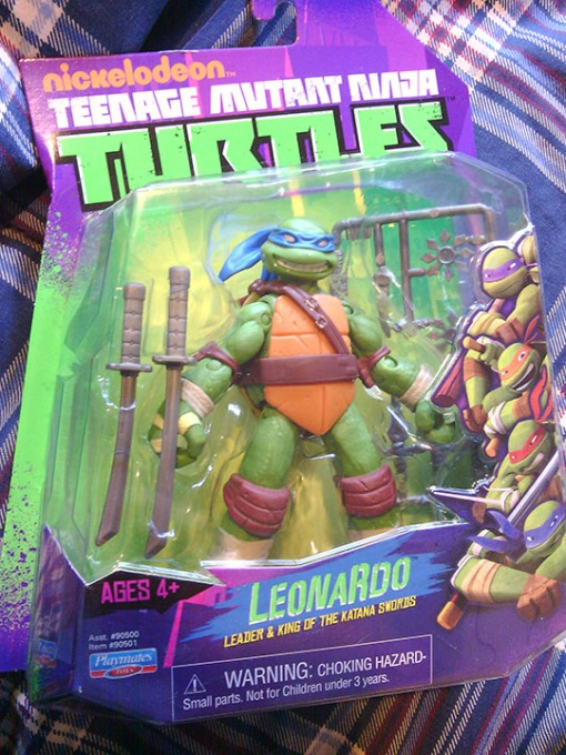 Playmates Teenage Mutant Ninja Turtles Leonardo 1