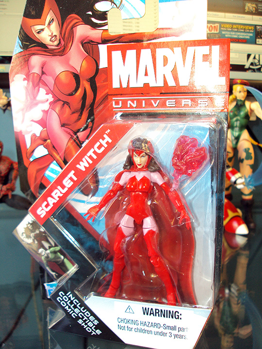 adventures in toy shopping hasbro marvel universe scarlet