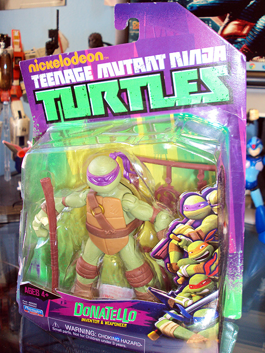 Teenage Mutant Ninja Turtles 2012 Neuralizer Toy : Playmates welcome to hdtoytheater