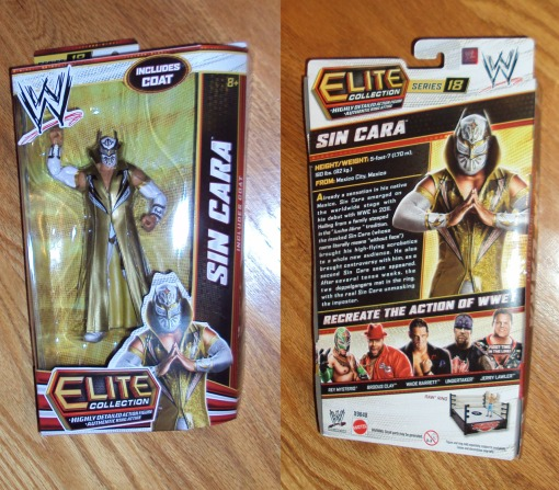 Mattel WWE Elite Series 18 Sin Cara 01