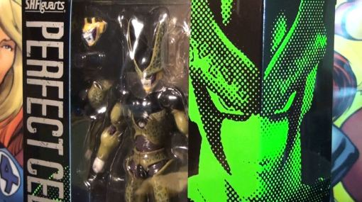 Bandai S.H. Figuarts Dragon Ball Z Perfect Cell 01