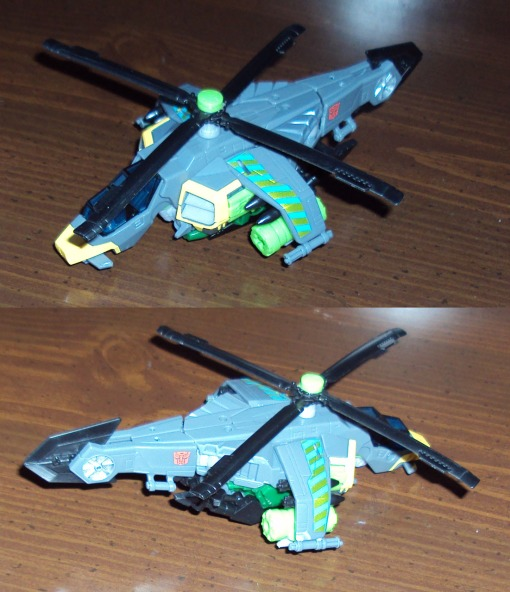 Transformers Generations Deluxe Class Springer 02