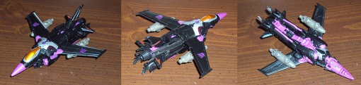 Takara Tomy Transformers Prime Skywarp 02