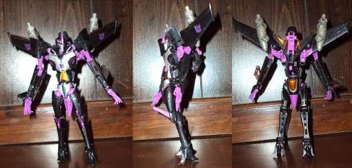 Takara Tomy Transformers Prime Skywarp 03