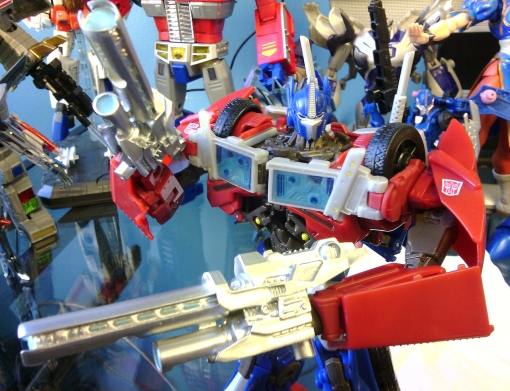 Transformers Prime Dr. Wu Cannon Guns Optimus Prime 4
