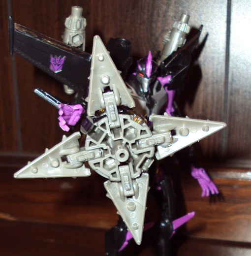 Takara Tomy Transformers Prime Skywarp 06