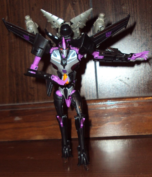 Takara Tomy Transformers Prime Skywarp 07