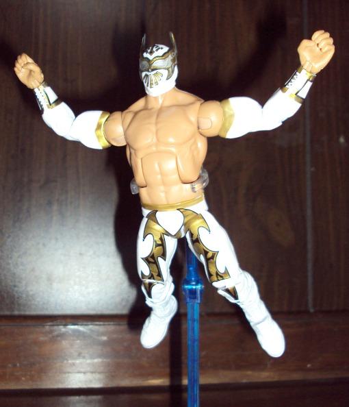 Mattel WWE Elite Series 18 Sin Cara 07
