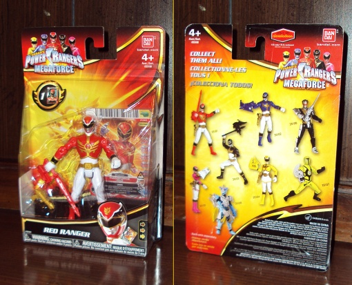 Bandai Power Rangers Megaforce Red Ranger 01
