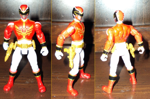 Bandai Power Rangers Megaforce Red Ranger 02