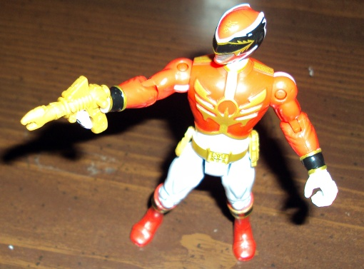 Bandai Power Rangers Megaforce Red Ranger 07