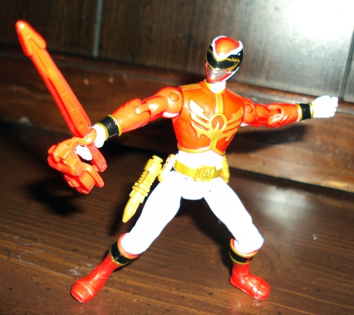 Bandai Power Rangers Megaforce Red Ranger 08