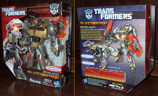 Hasbro Transformers Fall of Cybertron Grimlock 01