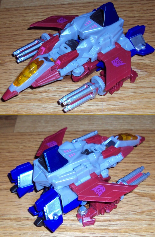 Hasbro Transformers Prime Fall of Cybertron Starscream 02