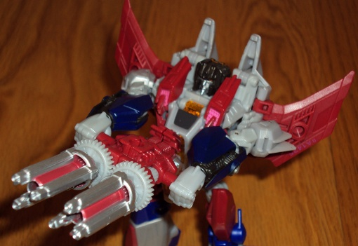 Hasbro Transformers Prime Fall of Cybertron Starscream 06