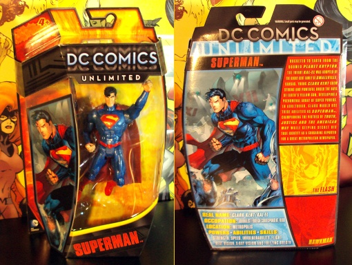 Mattel DC Unlimited New 52 Superman 01