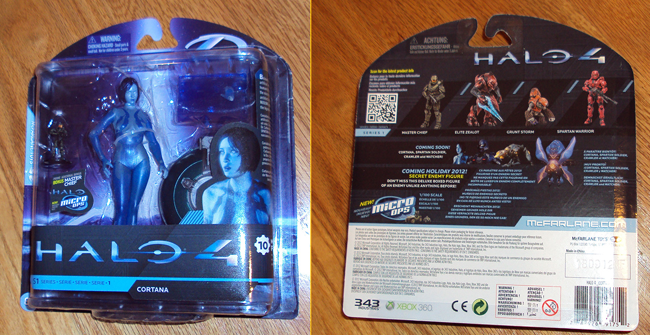 Mcfarlane Toys Halo 4 Cortana