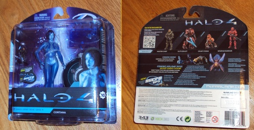 McFarlane Toys Halo 4 Cortana 01