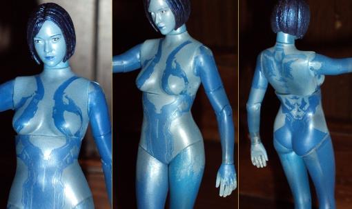 McFarlane Toys Halo 4 Cortana 04