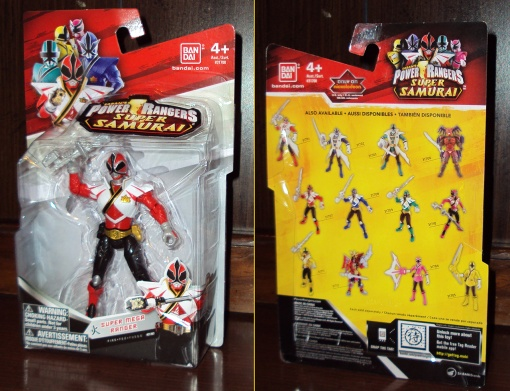 Power Rangers Super Samurai Super Mega Red Ranger 01