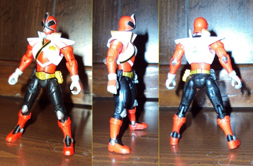 Power Rangers Super Samurai Super Mega Red Ranger 02