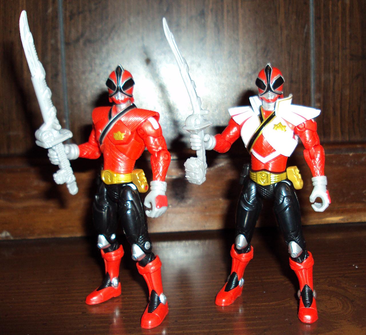 power rangers super samurai super mega red ranger 03