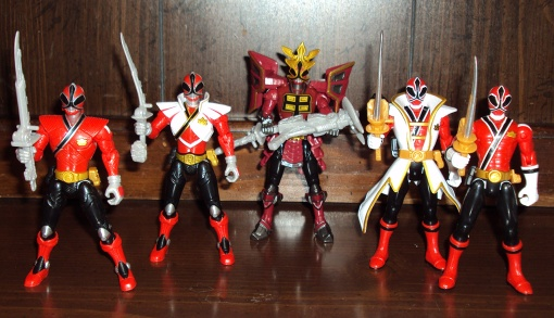 Power Rangers Super Samurai Super Mega Red Ranger 04