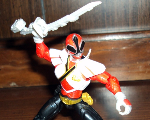 Power Rangers Super Samurai Super Mega Red Ranger 05