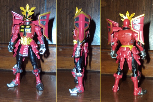 Bandai Power Rangers Super Samurai Red Shogun Ranger 2