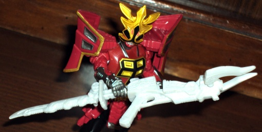 Bandai Power Rangers Super Samurai Red Shogun Ranger 6