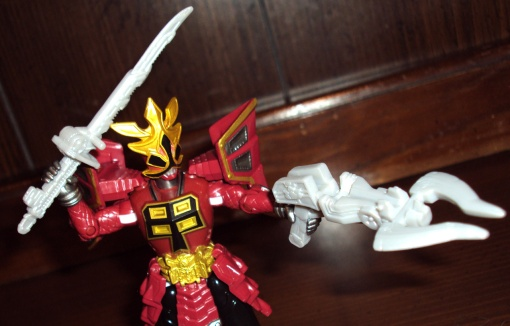Bandai Power Rangers Super Samurai Red Shogun Ranger 7