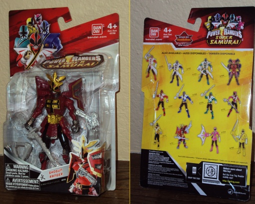 Bandai Power Rangers Super Samurai Red Shogun Ranger 1