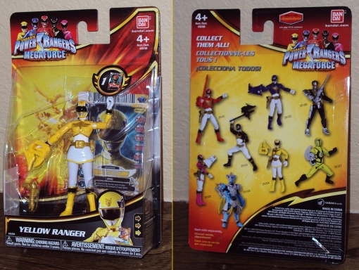 Bandai Power Rangers Megaforce Yellow Ranger 1