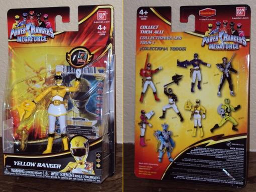 Bandai Power Rangers Megaforce Yellow Ranger 1
