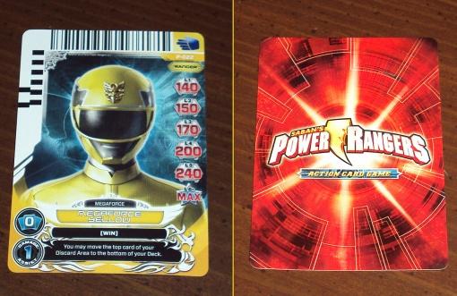 Bandai Power Rangers Megaforce Yellow Ranger 5