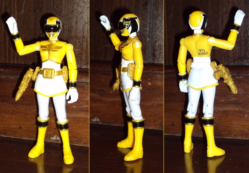 Bandai Power Rangers Megaforce Yellow Ranger 2