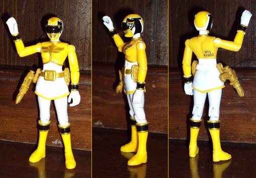 Bandai Power Rangers Megaforce Yellow Ranger 2