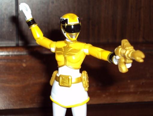 Bandai Power Rangers Megaforce Yellow Ranger 3