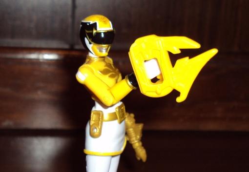 Bandai Power Rangers Megaforce Yellow Ranger 4