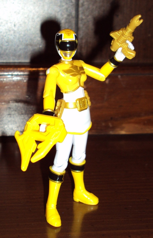 Bandai Power Rangers Megaforce Yellow Ranger