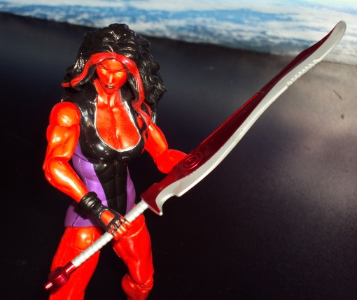 Marvel Legends Red She-Hulk 04