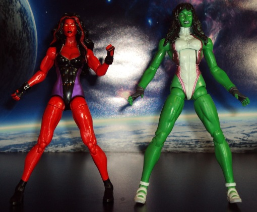 Marvel Legends Red She-Hulk 06