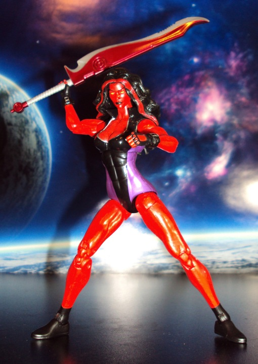 Marvel Legends Red She-Hulk 08