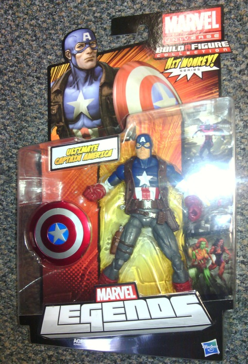 Ultimate Captain America Marvel Legends 2013 01