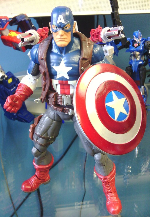 Ultimate Captain America Marvel Legends 2013 02