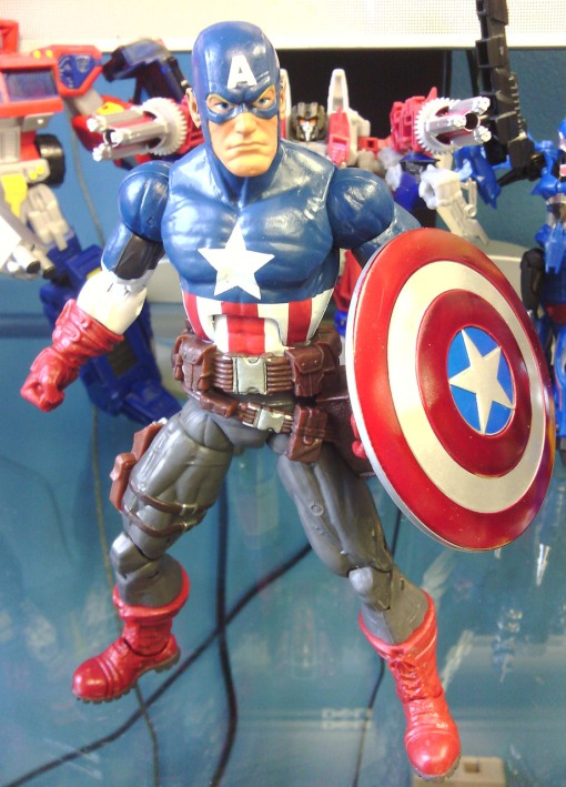 Ultimate Captain America Marvel Legends 2013 08