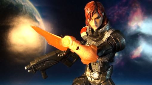 Square Enix Play Arts Kai Mass Effect 3 Female Commander Shepard 3