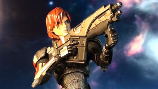 Square Enix Play Arts Kai Mass Effect 3 Female Commander Shepard 4