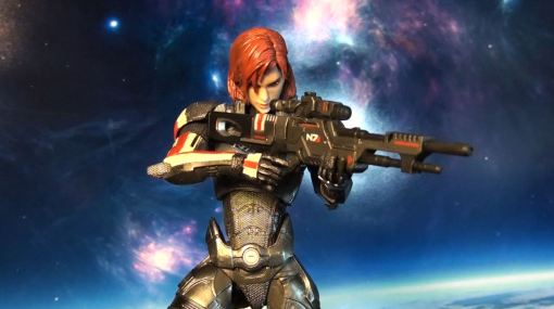 Square Enix Play Arts Kai Mass Effect 3 Female Commander Shepard 5