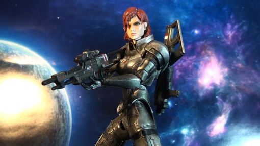 Square Enix Play Arts Kai Mass Effect 3 Female Commander Shepard 6